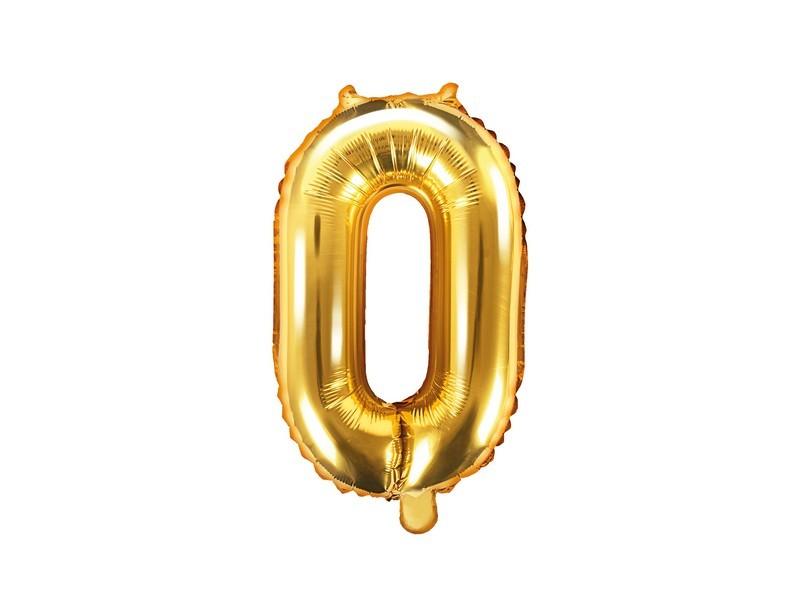 Balónik nafukovací číslo 0, 35cm