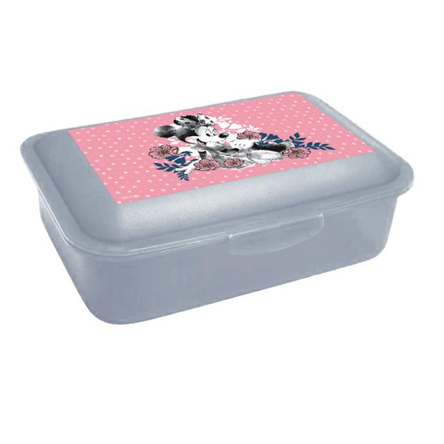 Box na desiatu Minnie ružový
