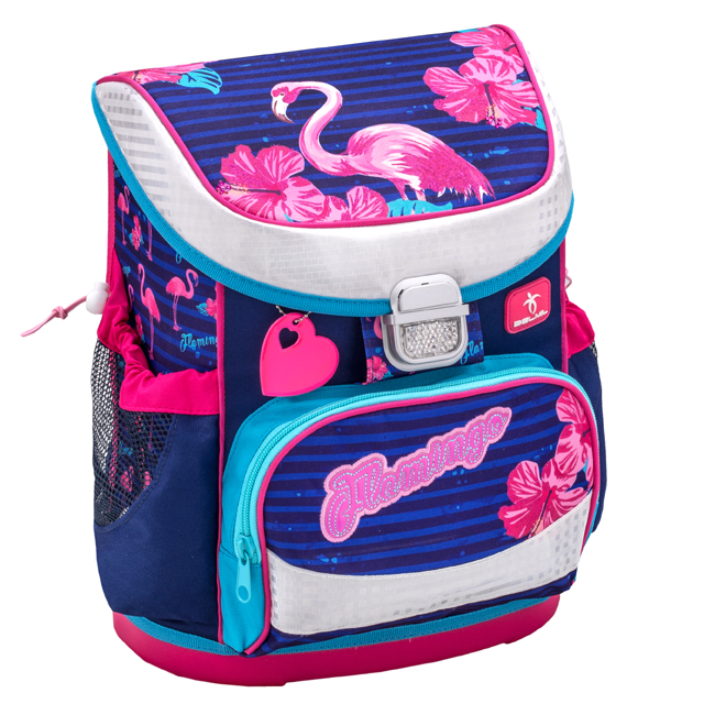 Školská taška BELMIL Flamingo