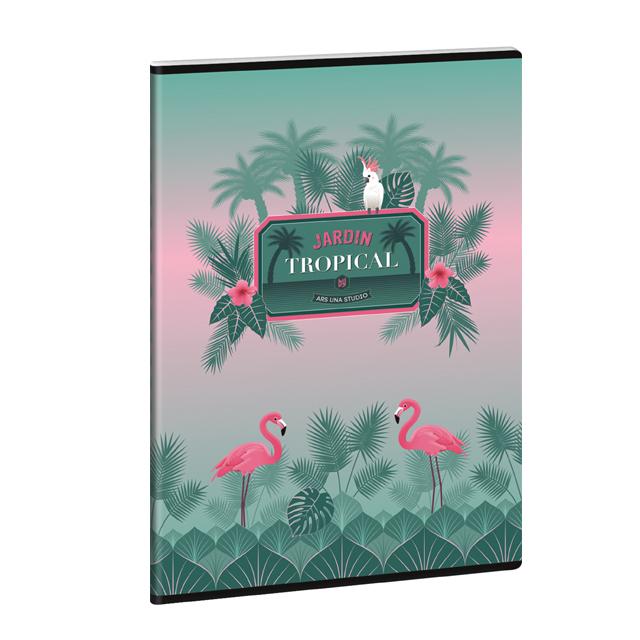 Zošit Flamingo A4 linajkový
