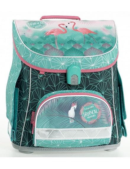 Školská taška BELMIL Flamingo Tropical