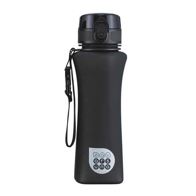 Fľaša plastová 500ml čierna matná