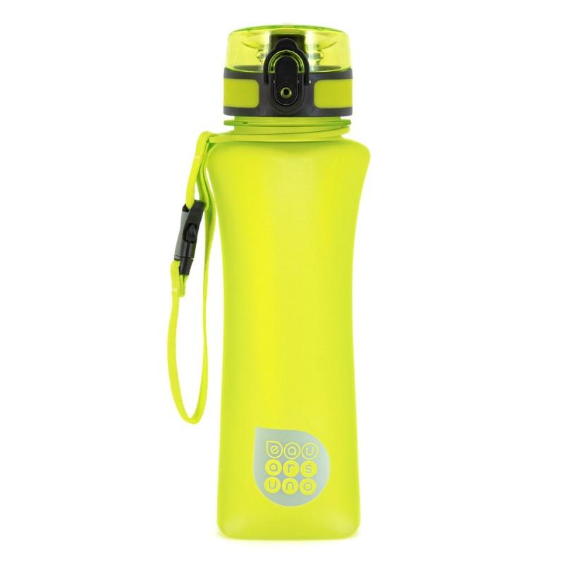 ARS UNA Fľaša plastová 500ml žltá matná