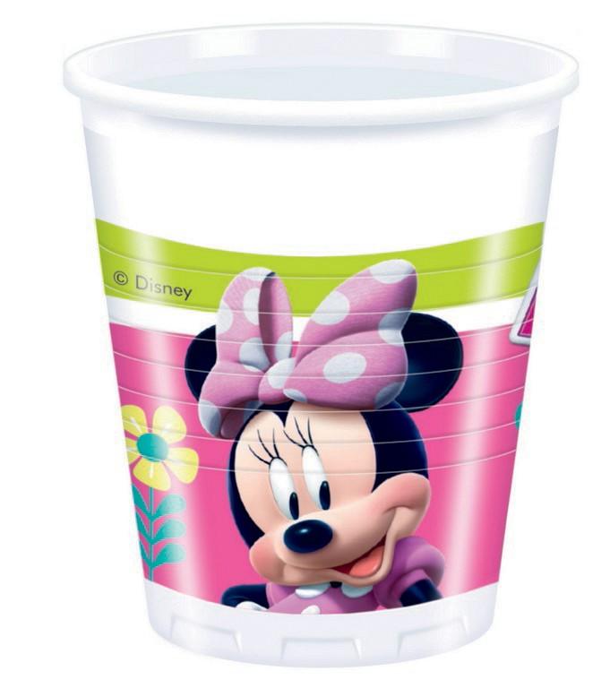 Plastové poháre Minnie  200ml- 8ks