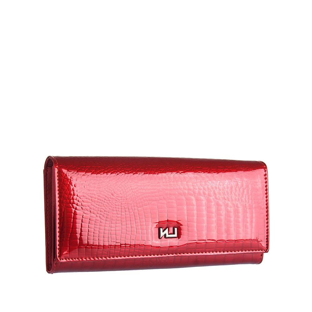 Dámska kožená peňaženka Elizabet Canard čierna
