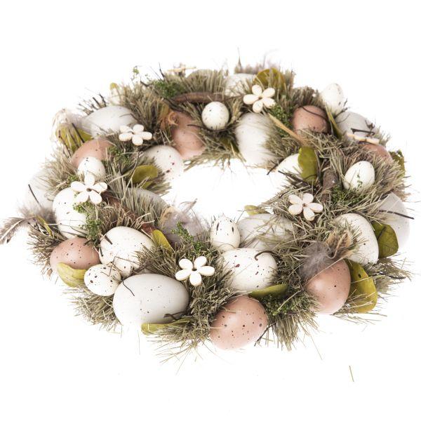 Veľkonočný veniec - vajíčka