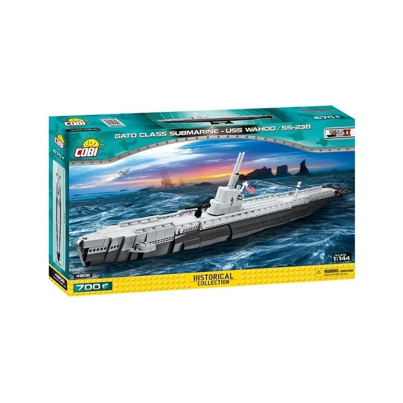 Stavebnica II WW Americká ponorka Gato