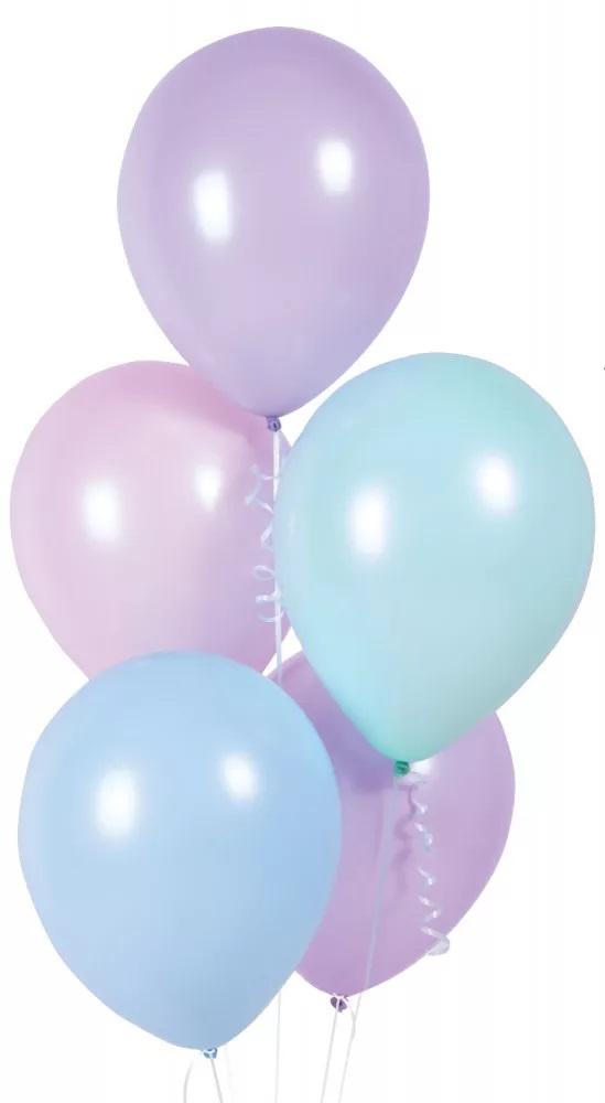 AMSCAN Balóny 10ks- fialové 27,5cm