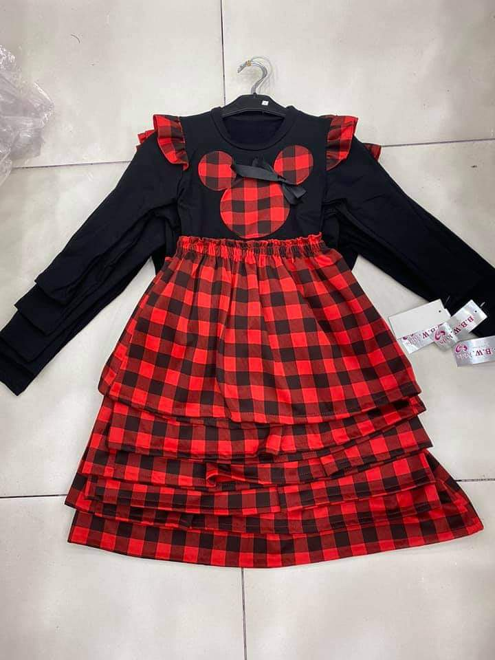 Dievčenské šaty myška 164