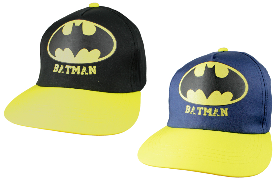 Šiltovka Batman modrá a čierna 54