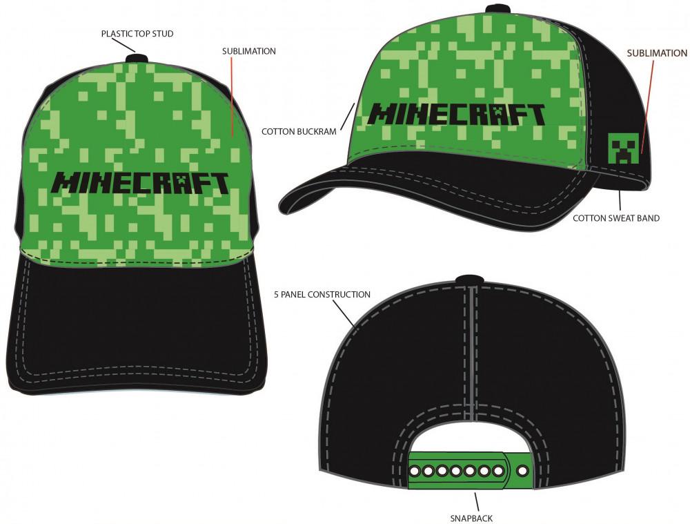 Šiltovka Minecraft 56