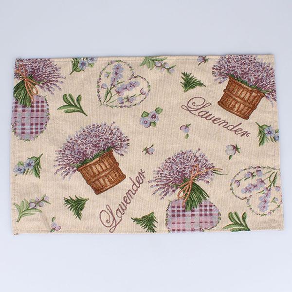 Textilné prestieranie Levanduľa 48 × 0,2 × 33 cm