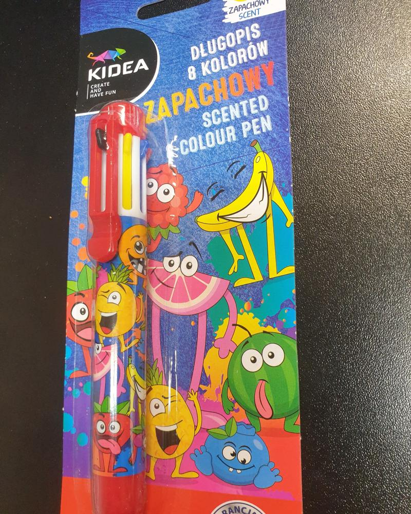 8-Farebné voňavé pero Kidea