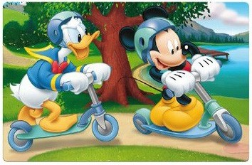 Podložka Mickey 3D 2 druhy