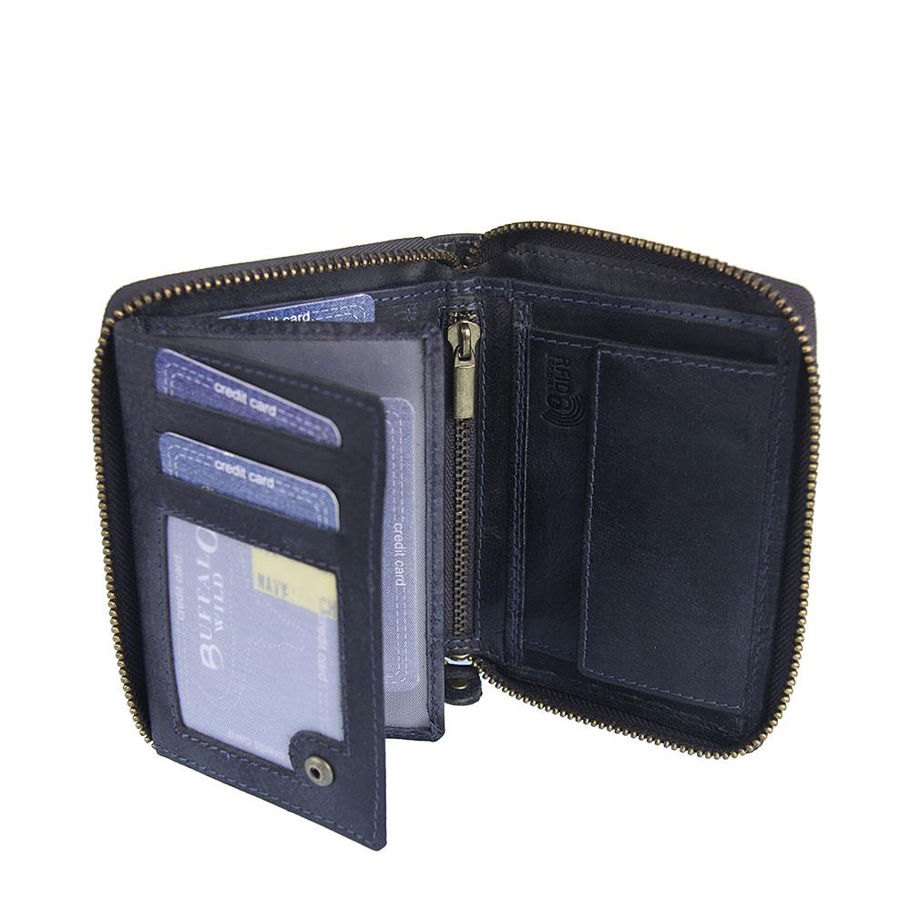94fa3bb29b83 Pánska kožená peňaženka WILD
