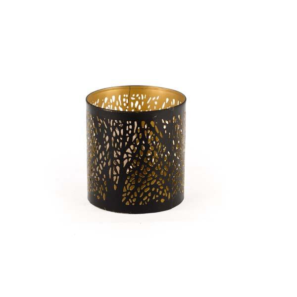 Kovový svietnik Strom malý