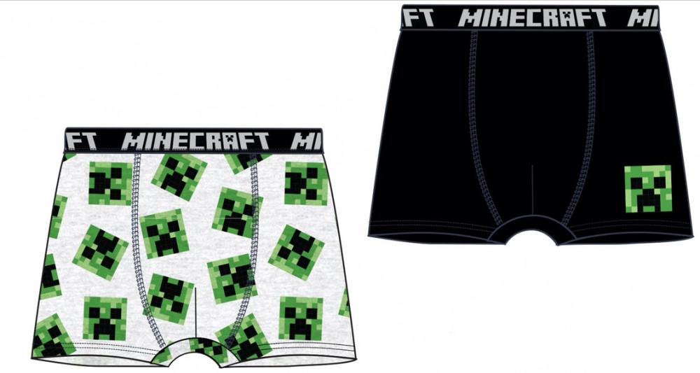 Boxerky Minecraft sada 2ks 128