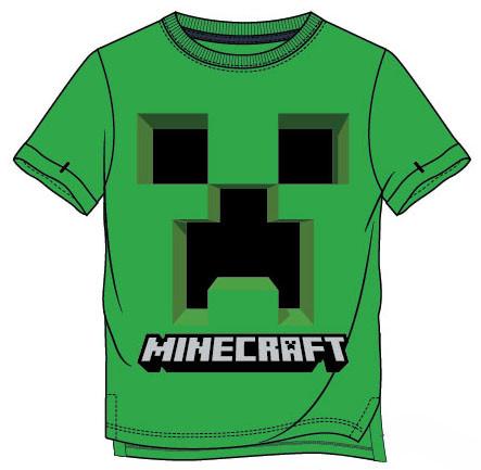 Tričko Minecraft  kr.rukáv 128