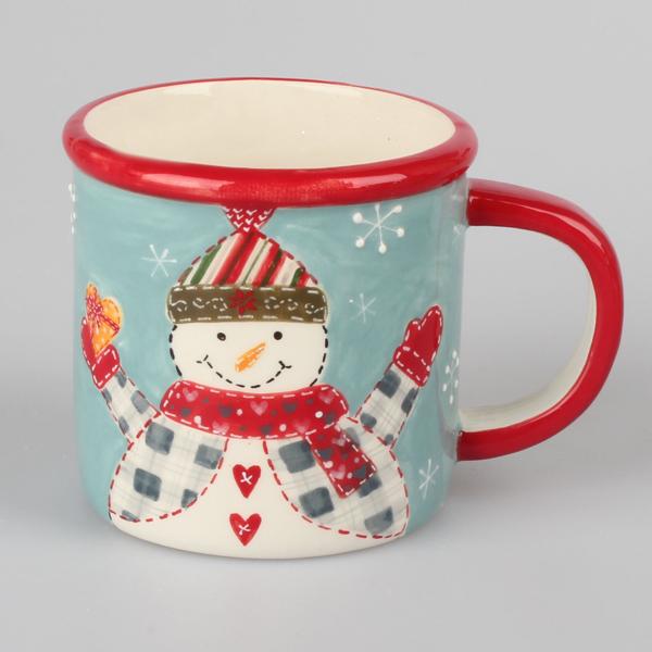 Hrnček Vianočný so snehuliakom