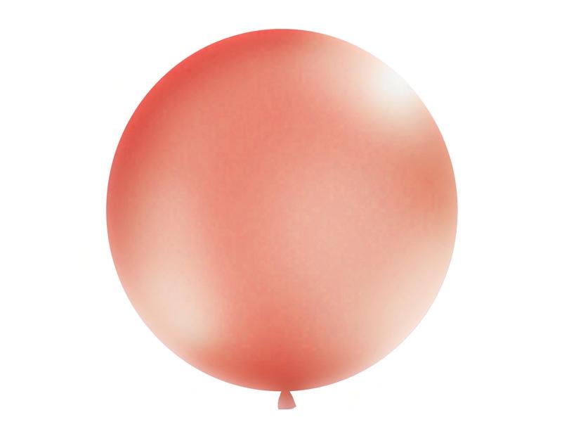 Balón v tvare guľa M metalické farby