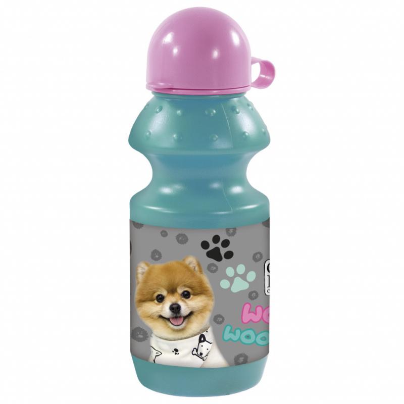 DERFORM Fľaša na pitie šteniatka 330ml zelená