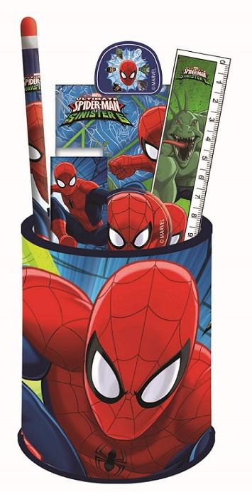 Písacia súprava Spiderman v stojane