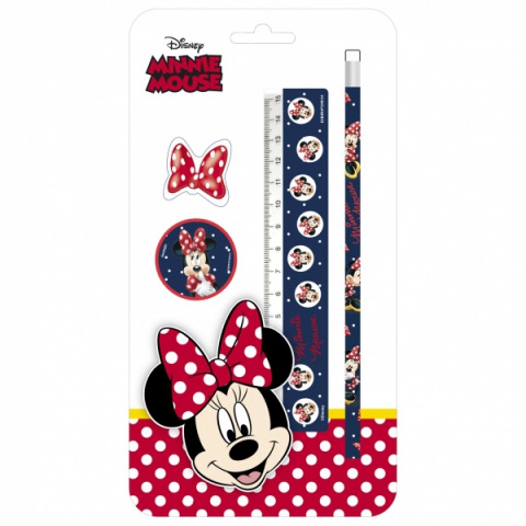 Písací set Minnie 5ks