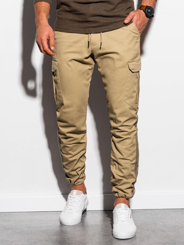 Pánske nohavice Ombre Camel M