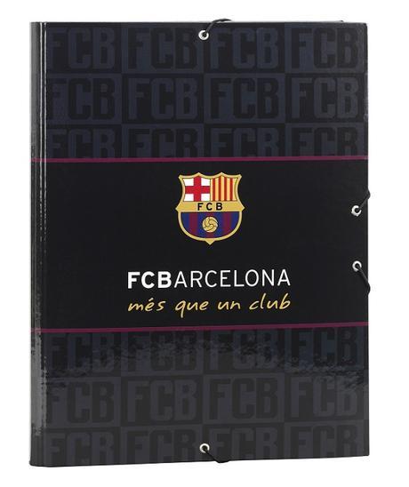 Obal/dosky FC Barcelona s gumkou black