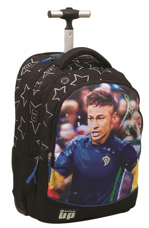 Školský batoh na kolieskach FC Barcelona- Neymar