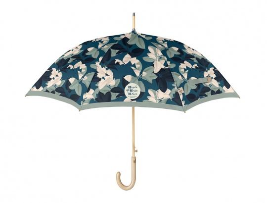 Dámsky dáždnik vystrelovací Listy