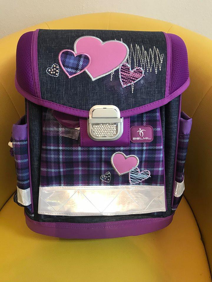 Školská taška BELMIL Jeans Lovers