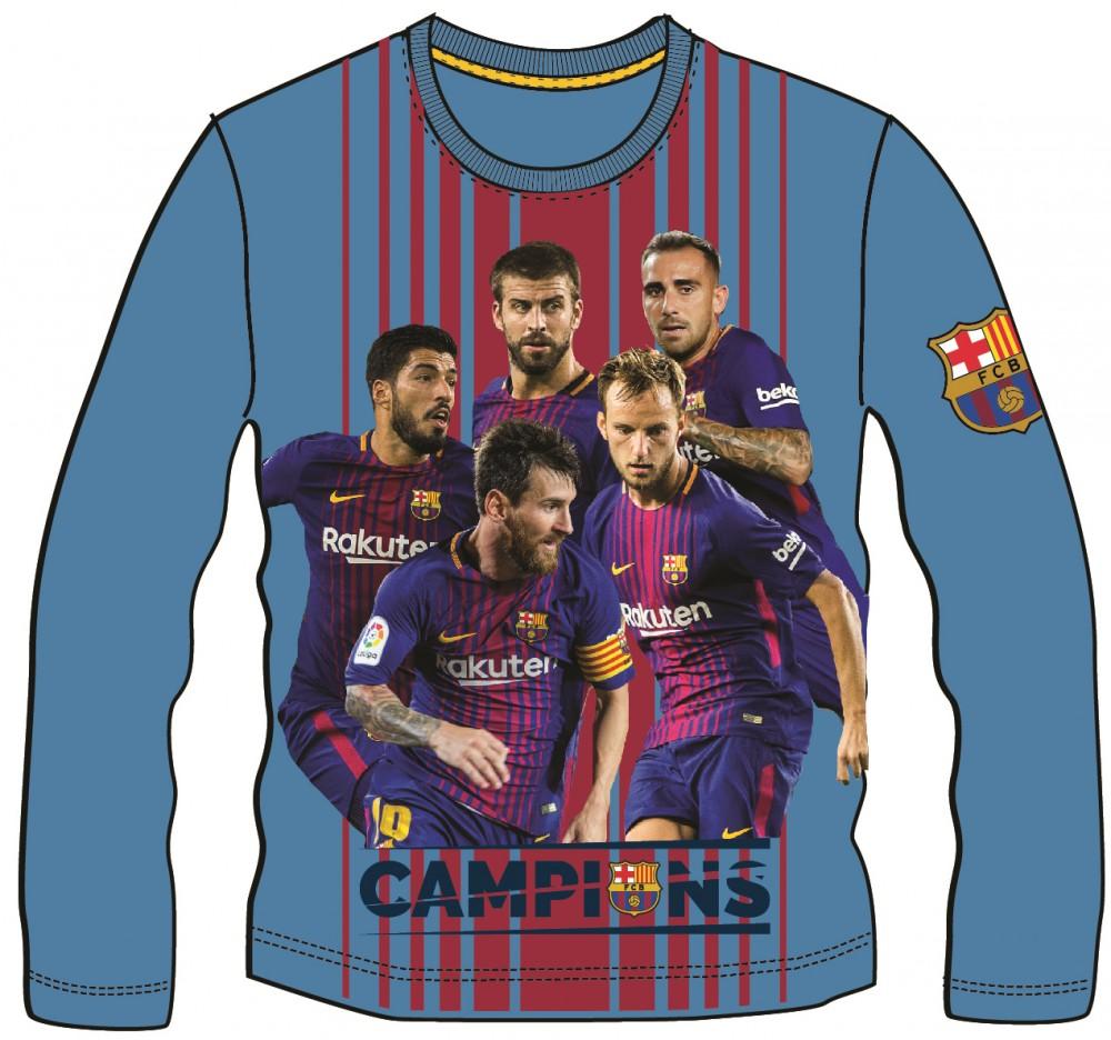 Tričko FC Barcelona dlhý rukáv  116