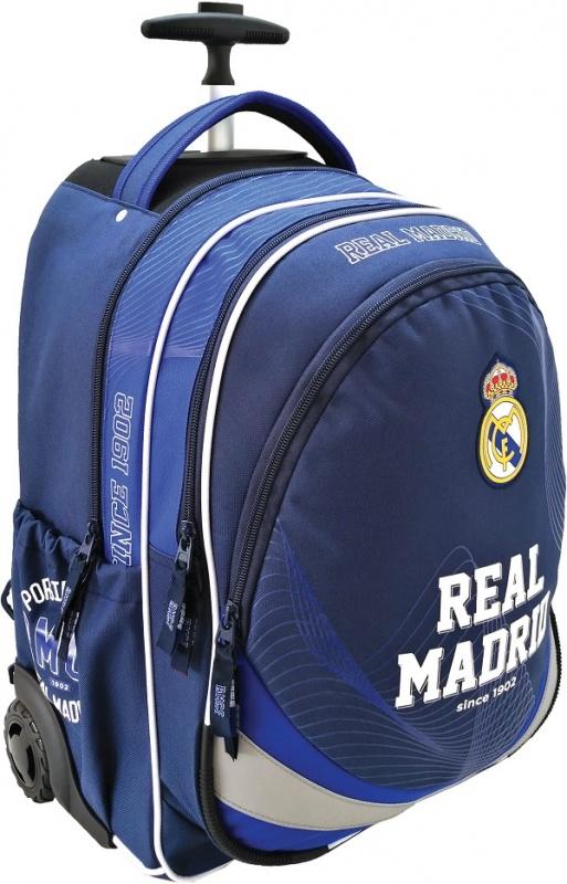 Školský batoh Real Madrid na kolieskach