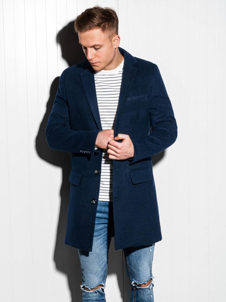 Pánsky elegantný kabát  Ombre Premium XL
