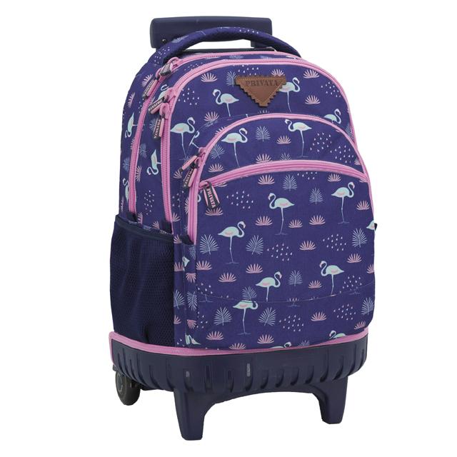 22b0628e3c Školský batoh na kolieskach Flamingo