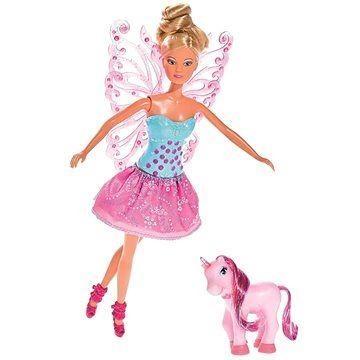 Bábika Steffi Víla s krídlami
