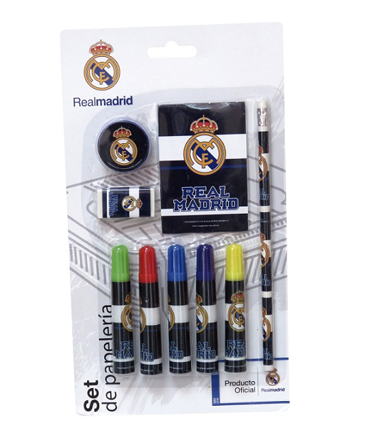 Písací set Real Madrid 9ks