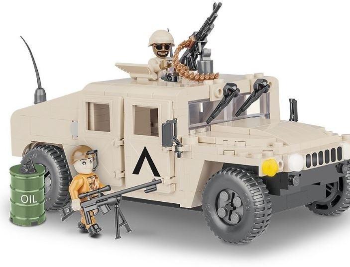 Stavebnice NATO terénne vozidlo púštne