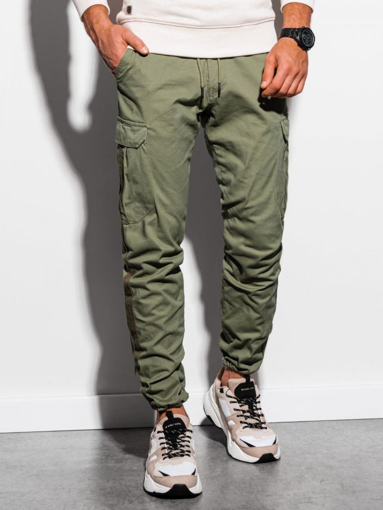 Pánske nohavice Ombre zelené L