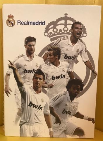 Zošit Real Madrid 160 strán