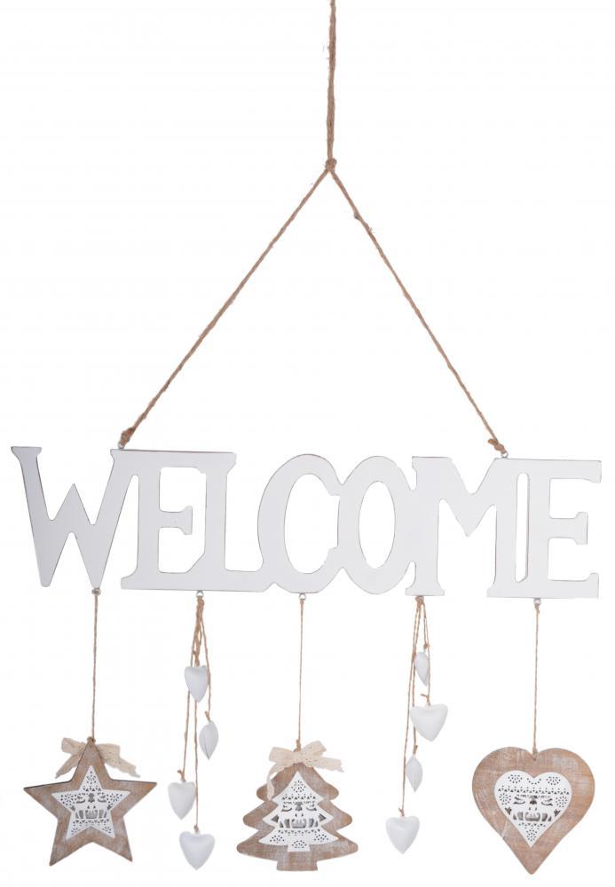 Vianočný nápis Welcome