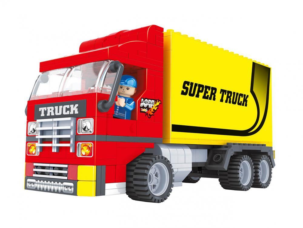 Stavebnica AUSINI meso-kamión 271 dielov od 6 rokov