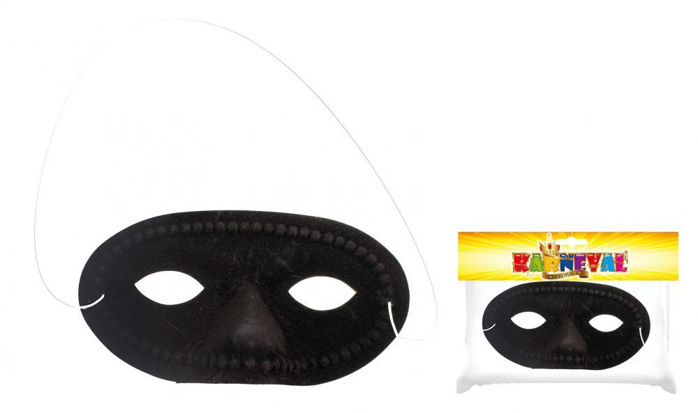 Škraboška čierna