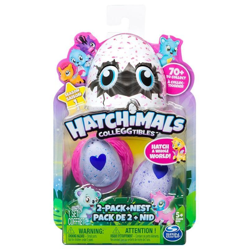 Zvieratká vo vajíčku EGG HATCHIMALS 2ks