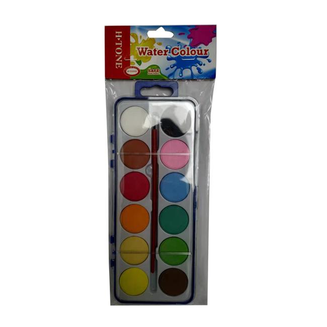 Vodové farby LAMBO 12ks + štetec grátis