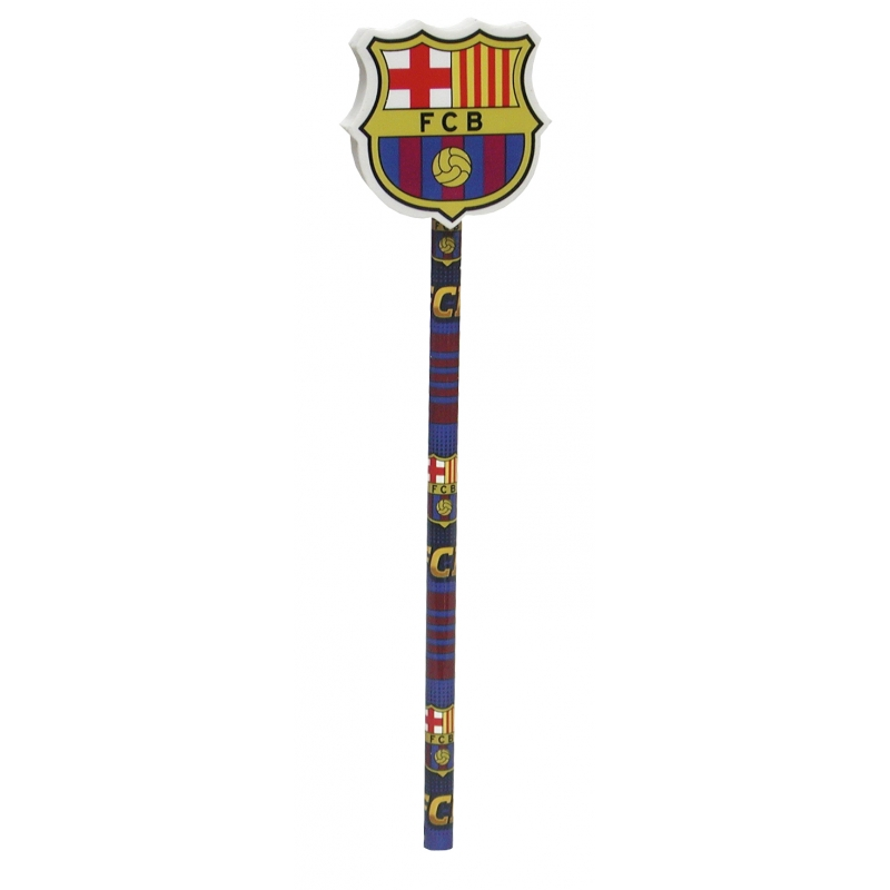 Ceruzka FC Barcelona s gumou