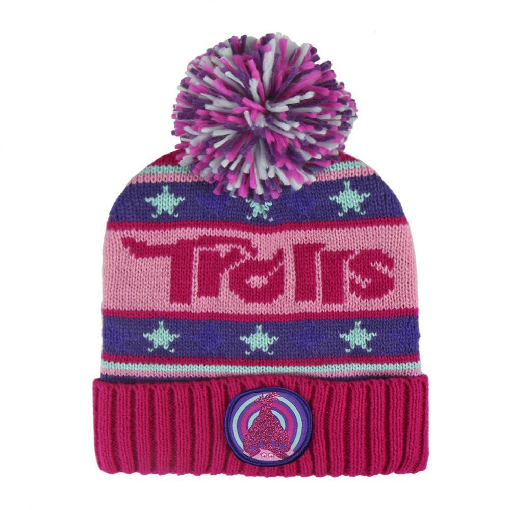 Zimná čiapka pletená Trollovia Trolls  3391d5ea4ab