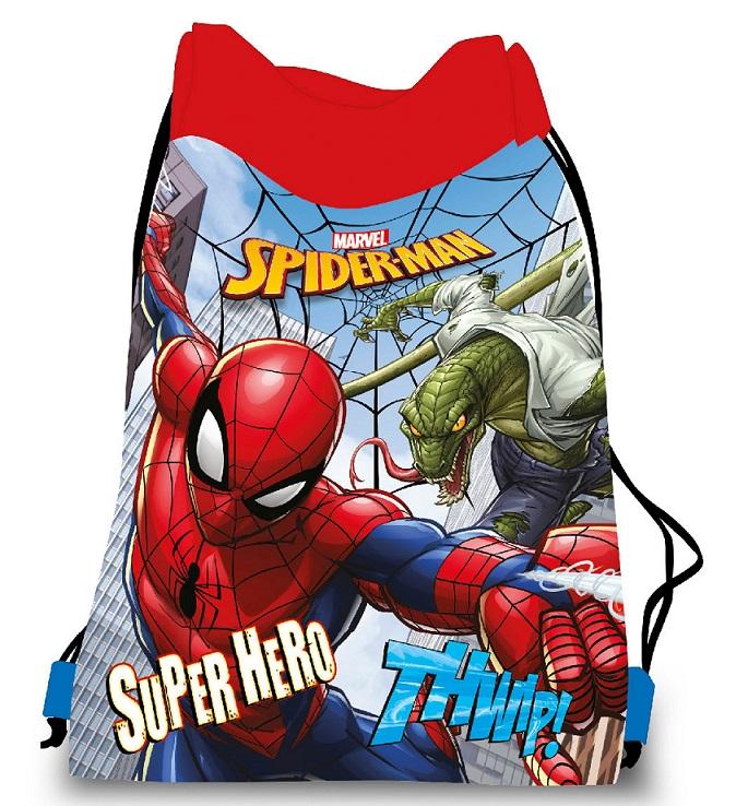 Vrecko na prezúvky, telocvik Spiderman