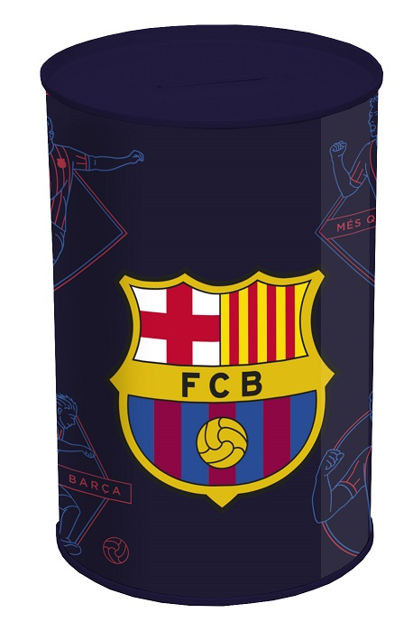 Pokladnička FC Barcelona kovová